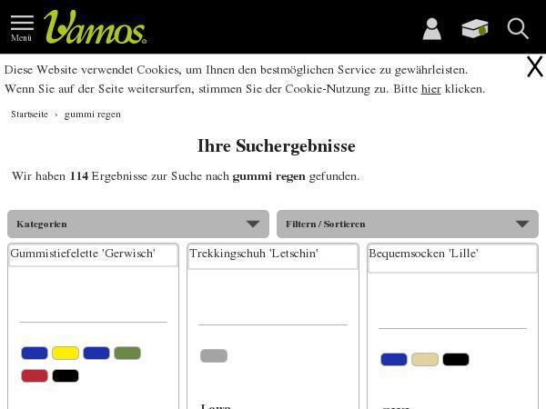 8be7021b3615cf Vamos-schuhe.de - Cashback   Gutscheine jetzt sichern